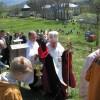 Дуб Папи Венедикта XVI у Лаврівськом василіянському монастирі
