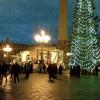 Ялинка і вертеп на площі св.Петра у Ватикані