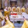 ЄПИСКОП ІРИНЕЙ БІЛИК ОЧОЛИВ СВЯТКУВАННЯ ХРАМОВОГО СВЯТА УКРАЇНСЬКОЇ ПАРАФІЇ СВЯТИХ СЕРГІЯ І ВАКХА В РИМІ